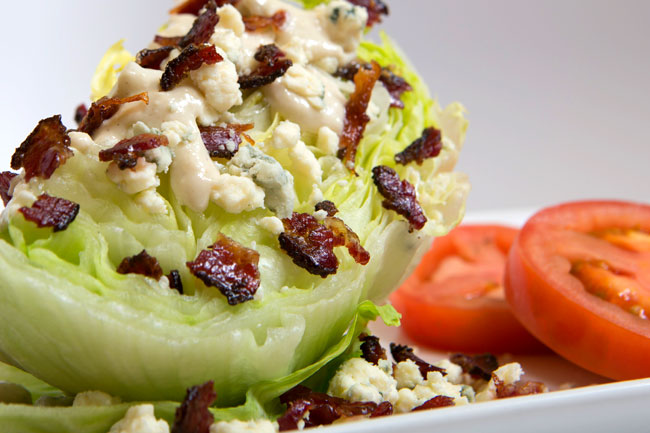 Schmacon Black n Blue Wedge Salad