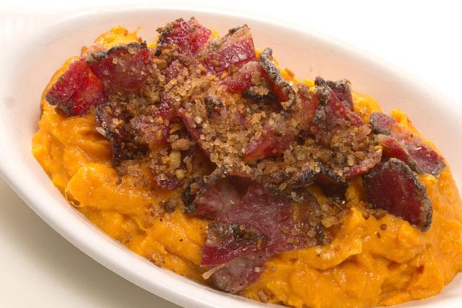 Maple Schmacon Sweet Potatoes